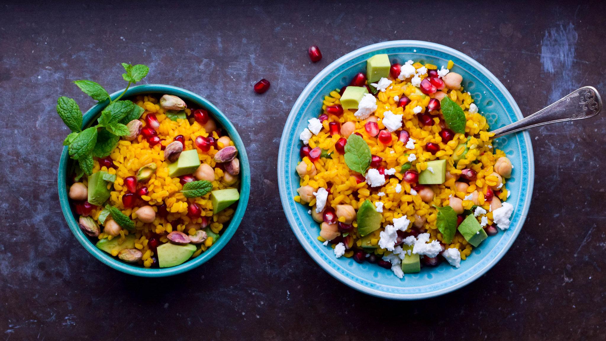 bulgur recept vegetariskt