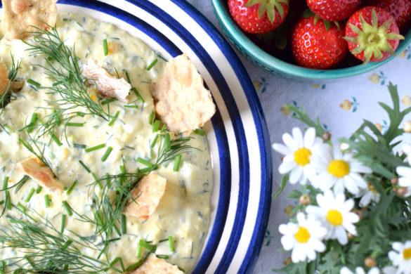 Vegetarisk midsommar recept