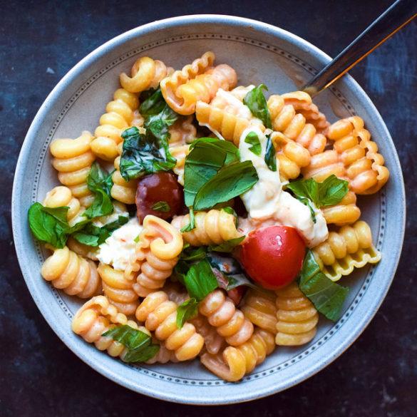 vegetarisk mat pasta
